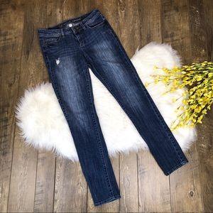 LC Lauren Conrad Skinny Jeans Medium Wash Size 8